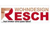 Resch WohnDesign Logo mit Claim Neu